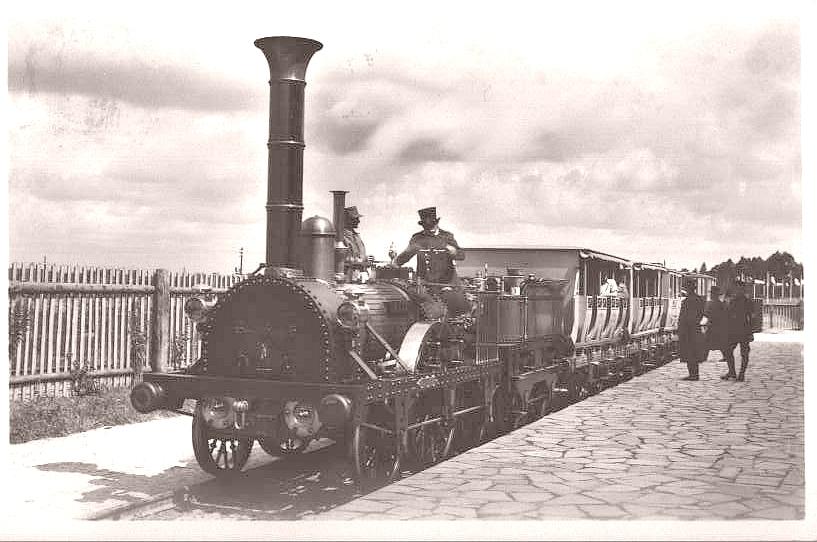 100 Jahre Deutsche Eisenbahnen - Der ADLER-Zug auf der ...